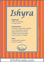 Nombre Ishyra