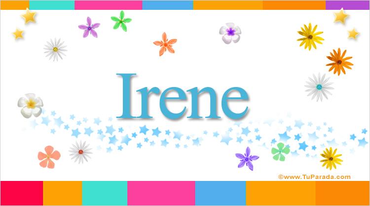 Irene, imagen de Irene