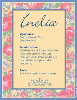Nombre Inelia