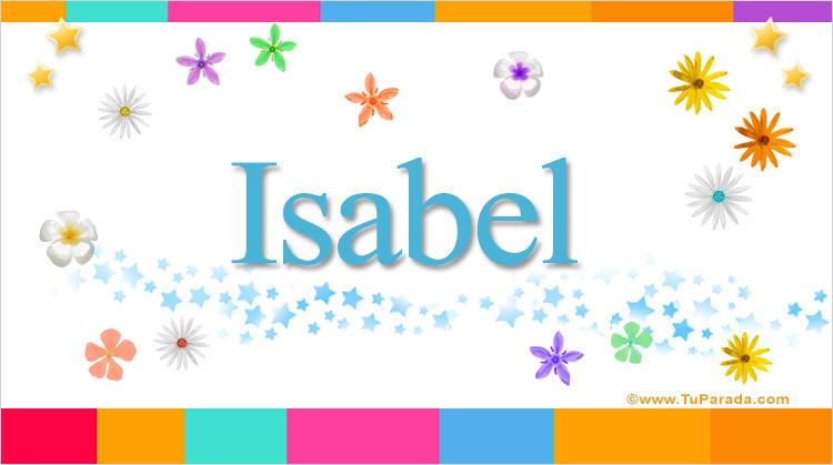 Isabel, imagen de Isabel