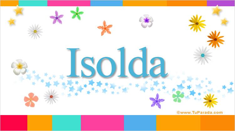 Isolda, imagen de Isolda