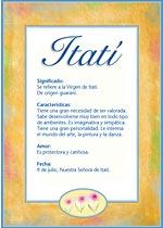 Nombre Itatí