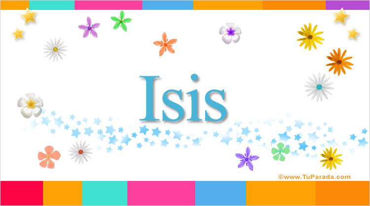 Isis, imagen de Isis