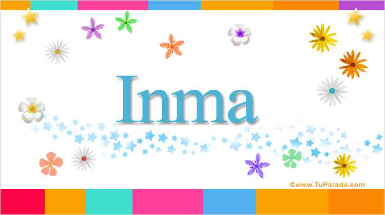Inma, imagen de Inma