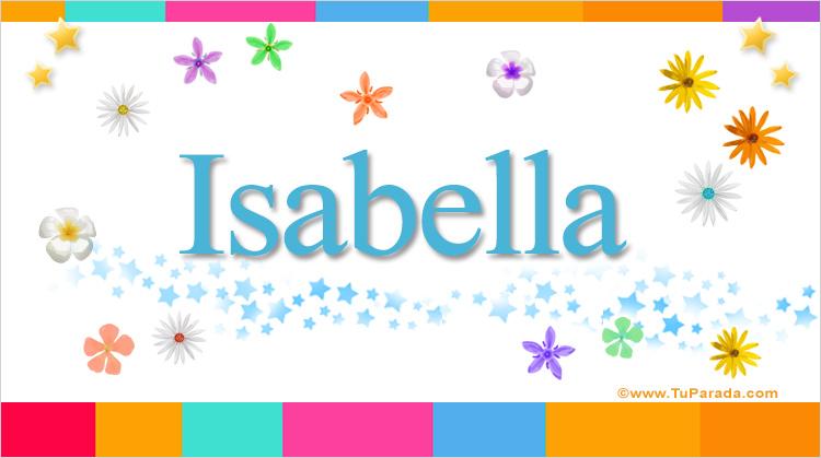 Isabella, imagen de Isabella