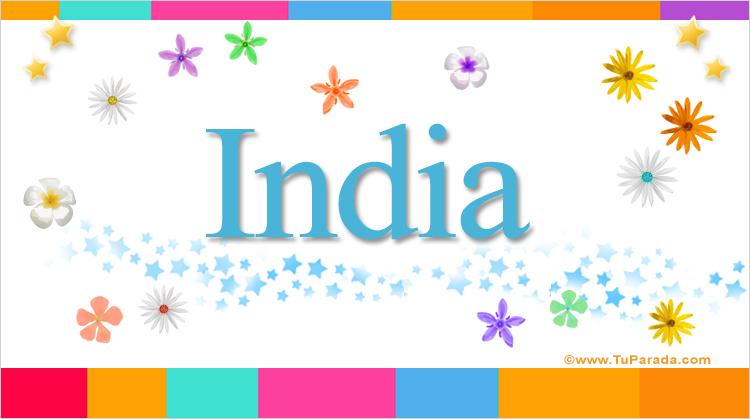 India, imagen de India