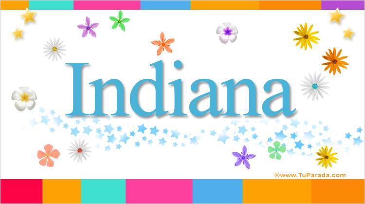 Indiana, imagen de Indiana