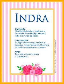 Nombre Indra