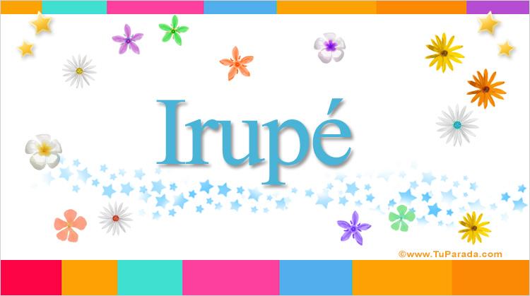 Irupé, imagen de Irupé