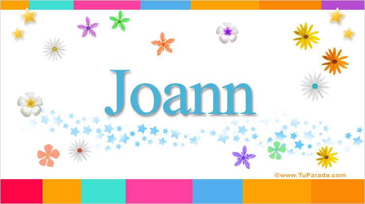 Joann, imagen de Joann