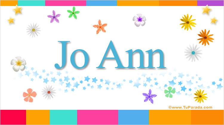 Jo Ann, imagen de Jo Ann