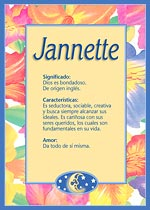 Nombre Jannette