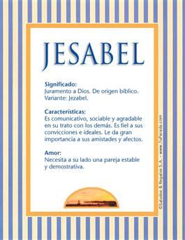 Nombre Jesabel