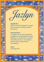 Nombre Jazlyn