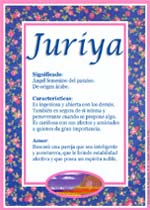 Nombre Juriya