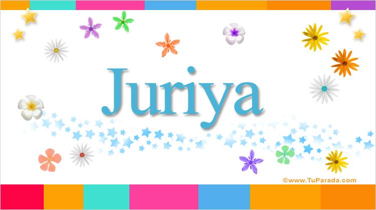 Juriya, imagen de Juriya