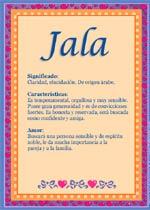 Nombre Jala