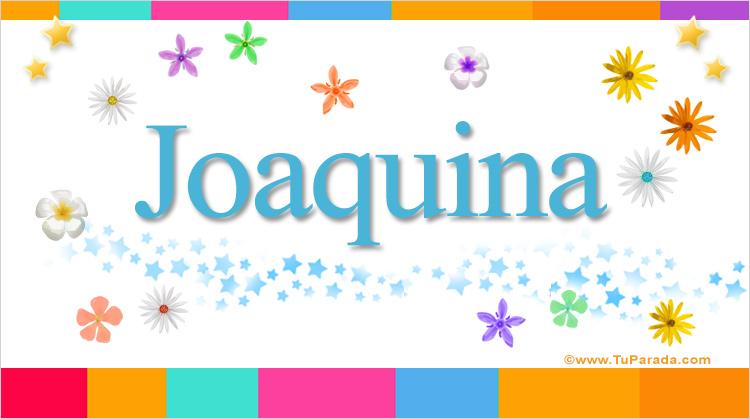 Joaquina, imagen de Joaquina