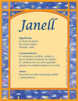 Nombre Janell