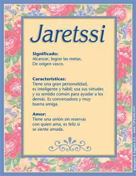 Nombre Jaretssi