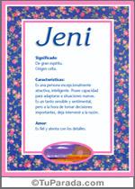 Nombre Jeni