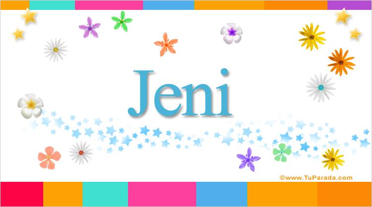 Jeni, imagen de Jeni