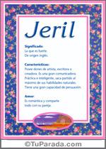 Nombre Jeril