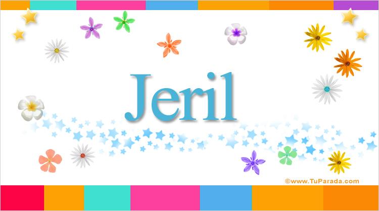 Jeril, imagen de Jeril