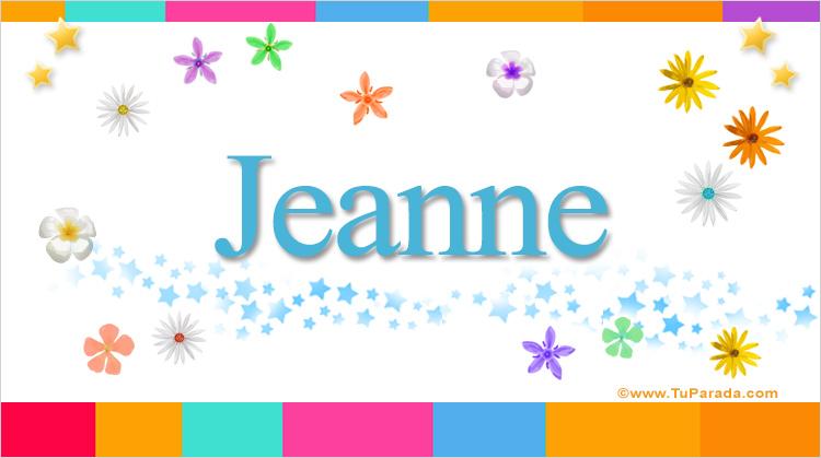 Jeanne, imagen de Jeanne