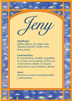 Nombre Jeny