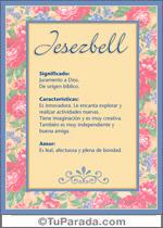 Nombre Jesezbell