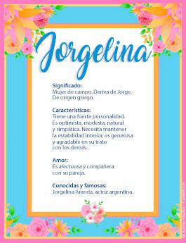 Nombre Jorgelina