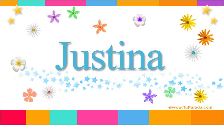 Justina, imagen de Justina