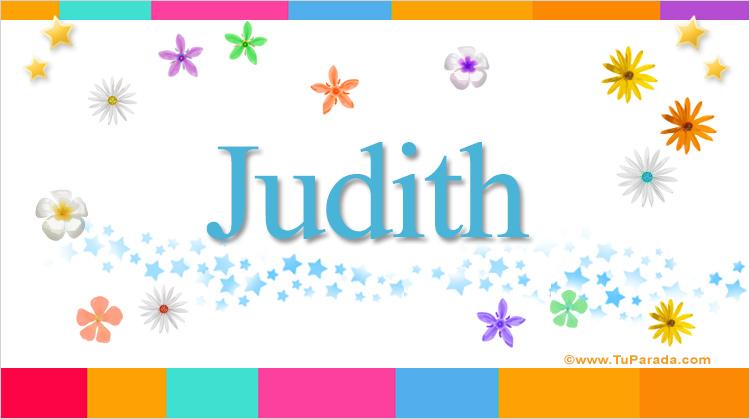 Judith, imagen de Judith