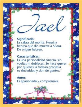 Nombre Jael