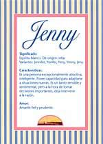 Nombre Jenny
