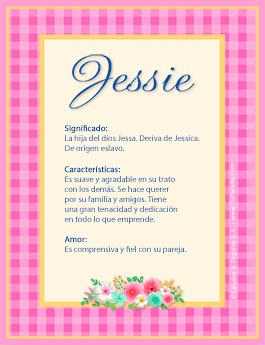 Nombre Jessie