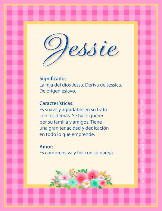 Jessie, imagen de Jessie