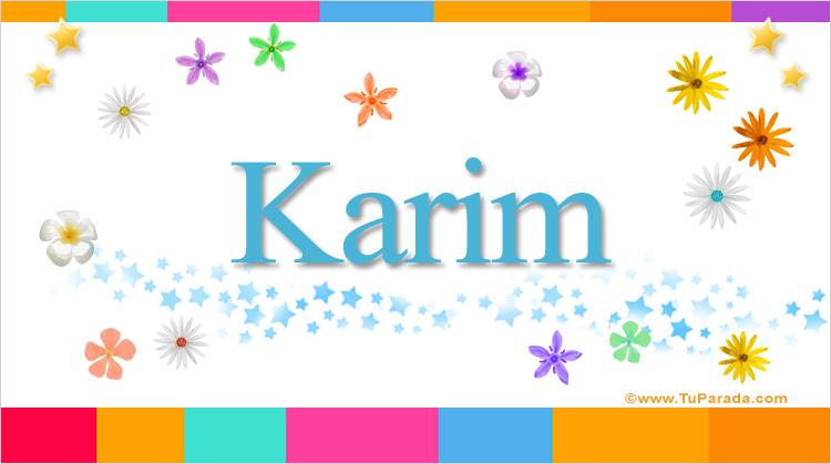 Karim, imagen de Karim