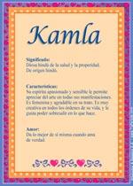 Nombre Kamla