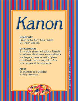 Nombre Kanon