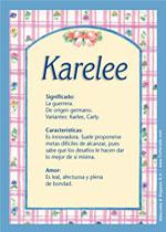 Karelee