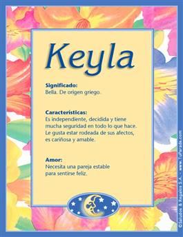 Nombre Keyla