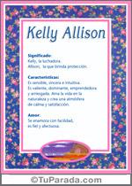 Nombre Kelly Allison