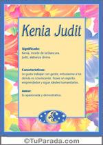 Nombre Kenia Judit