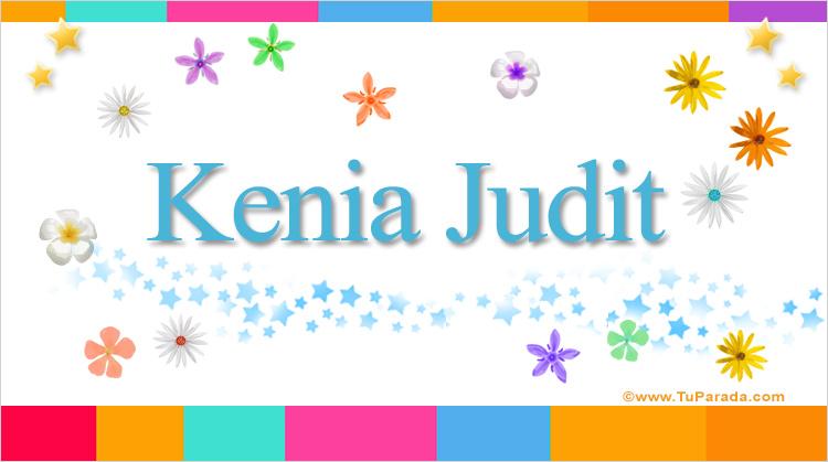 Kenia Judit, imagen de Kenia Judit