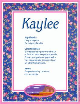 Nombre Kaylee