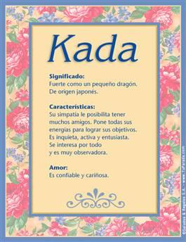Nombre Kada