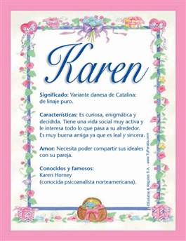 Nombre Karen