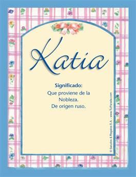 Nombre Katia